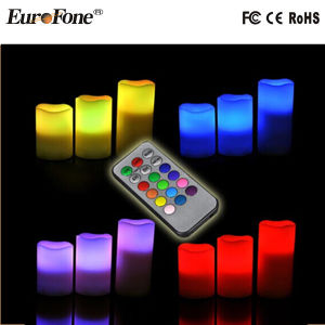 2015 Hot Sale Wax LED Candle for Decoration pictures & photos