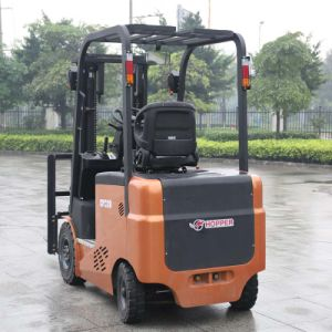 Small Capacity 2.0 Ton Electric Forklift with Forklift Battery Charger (CPD20E) pictures & photos