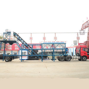 CE Certificate Yhzs35 Mobile Concrete Batching Plant CE Approved pictures & photos