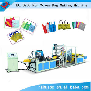 Computer Controlled Full Automatic Nonwoven Bag Machine pictures & photos
