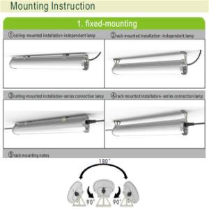 Ceiling Mounted IP65&Ik10 LED Batten Light/LED Tri-Proof Light pictures & photos