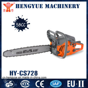 58cc Chain Saw, CE GS EMC Approved pictures & photos