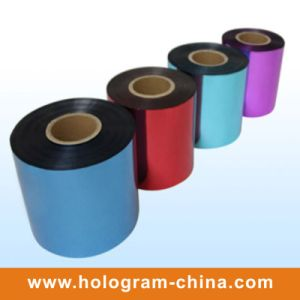 Colorful Tamper Proof Hard Embossing Film pictures & photos