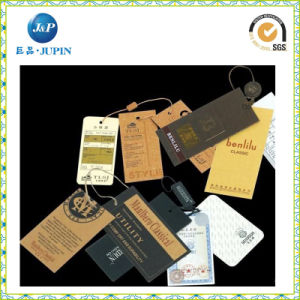 Wholesale Custom Paper Tag/Brand Swing Tag for Clothing Tag (JP-HT063) pictures & photos