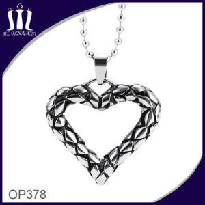 316L Titanium Steel Punk Heart Pendant pictures & photos
