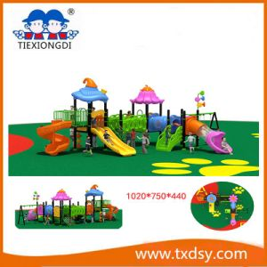 Kids Commercial Outdoor Playground Playsets Txd16-Bh030 pictures & photos