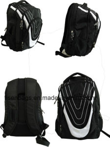Nylon Fabric Multiple Functional Travel Backpack Bag, School Bag
