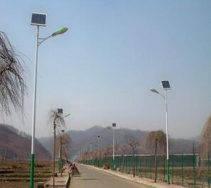 6m Lighting Pole with 36W LED Solar Street Light