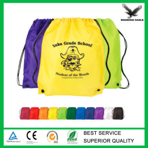 Promotion Custom Gym Sack Drawstring Bag pictures & photos