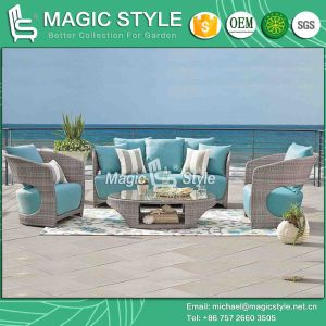 High Quality Sofa Set Wicker Sofa Set Patio Sofa (Magic Style) pictures & photos