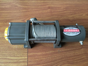 12V Auto 3500lbs Mini Electric Winch Pulling Capacity Star Model Hot Sale pictures & photos