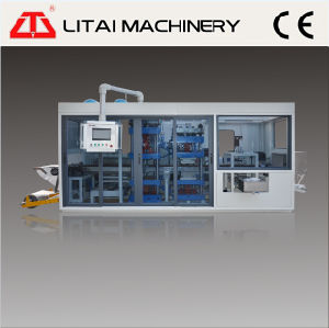 Full Automatic Plastic Food Container Thermoforming Machine Line pictures & photos