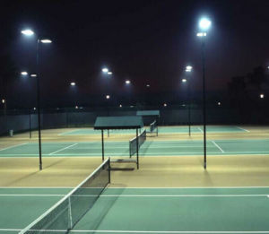 High Lumens LED Badminton Basketball Tennis Court Light 200W Meanwell Driver IP65 400W 300W Flood Lights pictures & photos