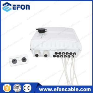 2 Port Locked 12 Core Optical Fiber Cable Junction Box (FDB-012D) pictures & photos