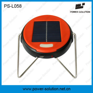 Portable and Affordable Mini Solar Reading Lamp with LiFePO4 Battery (PS-L058) pictures & photos
