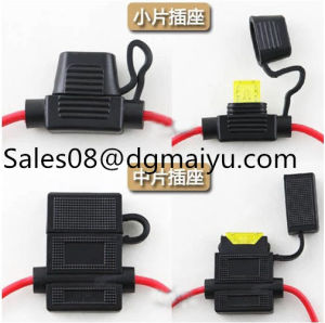 16AWG 18AWG in-Line Inline Blade Fuse Holder Medium Fuse Holder Waterproof pictures & photos