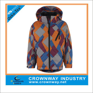 Colorful Hooded Warm Winter Padded Jacket for Men pictures & photos