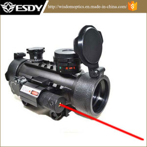 Airsoft 1x30 R&G DOT Scope Sight with Red Laser pictures & photos