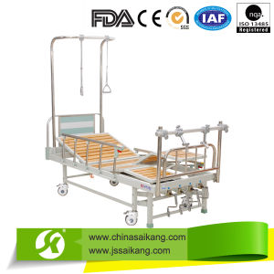 Orthopedics Traction Bed Four Crank Three Functions (CE/FDA) pictures & photos