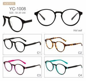 Hot Selling Popular New Design Acetate Optical Frames Eyeglasses pictures & photos