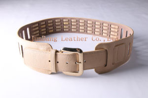 Fashion Custom Women Waist PU Belt with Rivets pictures & photos