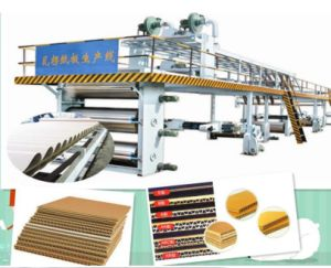 China Manufacture 3, 5, 7 Layer Corrugated Cardboard Production Line pictures & photos