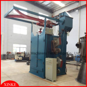 Overhead Rail Hanger Hook Type Shot Blasting Machine pictures & photos