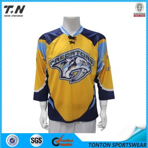Healong Team Fully Dye Sublimated Hockey Jersey pictures & photos