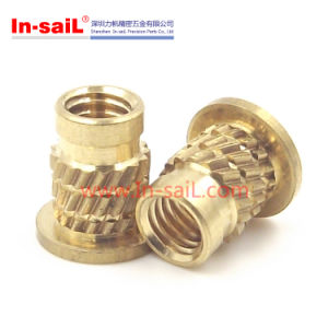 Flanged - Threaded Inserts for Plastic Material pictures & photos