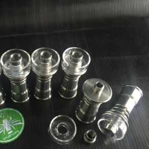 Grade 2 Titanium Nails Glass Smoking Water Pipe pictures & photos