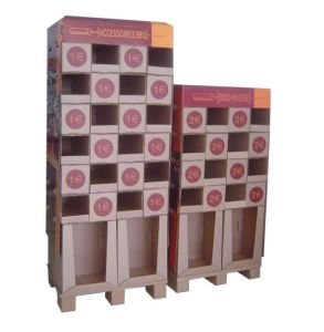 Wholesale Printed Cardboard Promotional Pallet Counter Display Box 51 pictures & photos