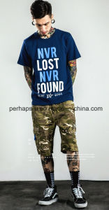 New Style Slub Cotton Mens Street Printing T-Shirt pictures & photos