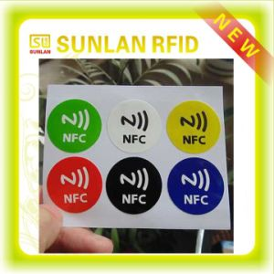Paper Roll NFC Ntag 203 Ntag213 Label Tag Sticker for Asset Tracking pictures & photos