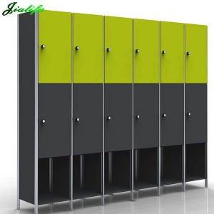 Jialifu Durable Glossy Solid HPL Lockers pictures & photos