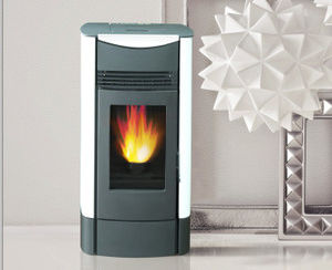 Best-Selling Indoor Using Wood Pellet Stove with Remote Control pictures & photos