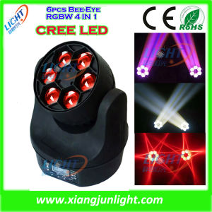 6X15W 4in1 Beam LED Moving Head RGBW Wash pictures & photos