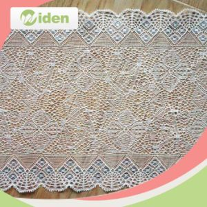 Gold Flower Lace Trimming Lace with Sequin Lingerie Stretch Lace pictures & photos