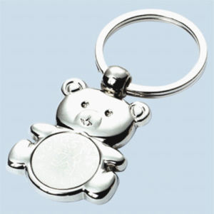 Promotion Animal Bear Shape Metal Keychain with Custom Logo (F1282A) pictures & photos