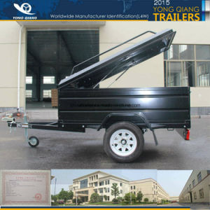 Yq/T-Awa-55bd Black Canopy Trailer with Good Quality, Popular Trailer Food Trailer pictures & photos
