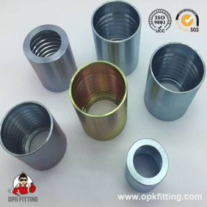 SAE100r7-R8-Ferrule-for-SAE100r-R8-Hose-00018 Fitting pictures & photos