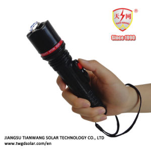 Rechargeable Electric Shock Torch with Belt Case pictures & photos