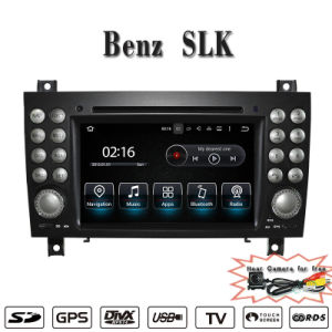 Carplay Anti-Glare Android 7.1-2+16g Car DVD GPS Navigation for Mercedes Benz Slk Radio DVD with Phone Connectin Hualingan pictures & photos