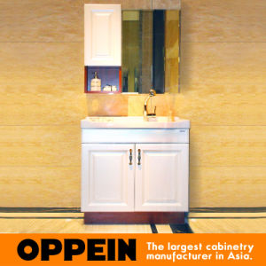 Oppein Classic No Countertop PVC Bathroom Cabinets (OP15-129A) pictures & photos