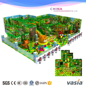 Jungle Theme Indoor Soft Playground for Children Plays pictures & photos