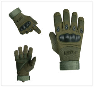Outdoor Sports Full Finger Military Tactical Airsoft Cycling Protective Gloves pictures & photos