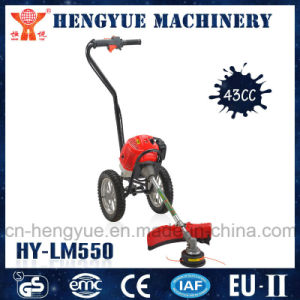 43cc Popular Brush Cutter with Wheels in Hot Sale pictures & photos