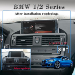 "Anti-Glare Carplay 8.8""BMW 1 F20 BMW 2 F22 Navigation GPS Android 7.1 WiFi Connection 2+16g pictures & photos"
