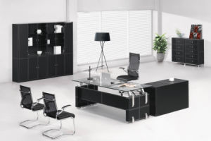 Fashion &Modern PVC/MDF Office Desk (AT020) pictures & photos