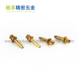 Precision Parts Metal Brass Shaft pictures & photos