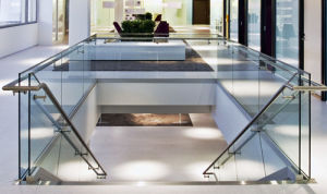 Frameless Glass Balustrade/Railing for Office Building pictures & photos